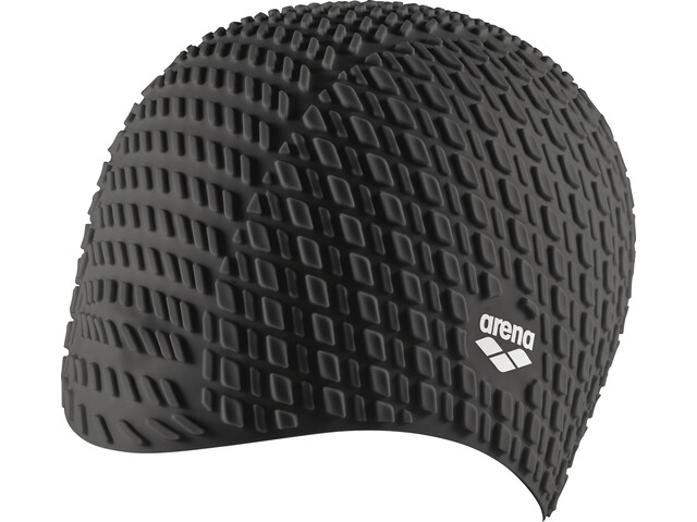arena Bonnet Silicone Swimming Cap black